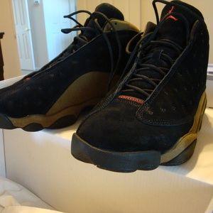 Air Jordan retro 13 Olive sz 11 Worn once